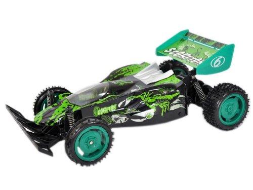 Makant - Macchina radiocomandata Car Buggy Scorpion Scala 1:10 (Verde)