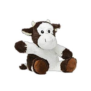PELUCHO de Vaca para Botella de Agua, de Polietileno, Color Blanco, marrón