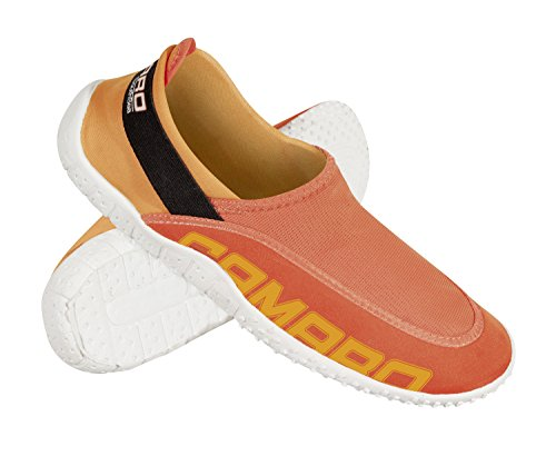 Camaro, Scarpette in neoprene con inserto in rete South Sea Arancione (Orange)