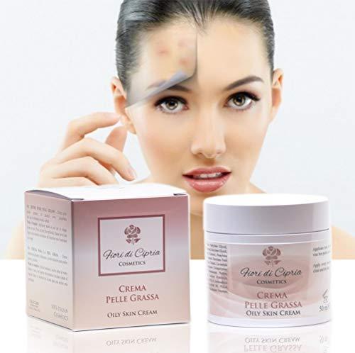 Gesichtscreme Für Fettige Haut - Helfen Die Produktion Von Talg Zu Reduzieren Und Verleihen Der Haut Einen Matten Teint Für Den Ganzen Tag - 50 ml