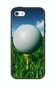Case Schutzrahmen hülse Iphone 5 5s Golf Club Go5 Abdeckung für Border Gummi Silikon Tasche Schwarz @pattayamart