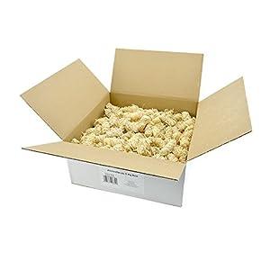 Öko Anzündwolle 15KG Premium-Holzwolle Anzünder Kaminanzünder Holzanzünder Grillanzünder Brennholzanzünder Holzkohle Briketts Kaminholz