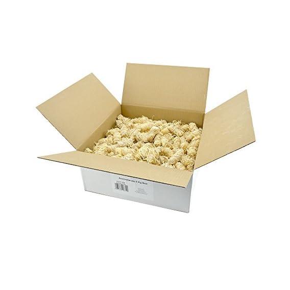 Ko Anzndwolle 15kg Premium Holzwolle Anznder Kaminanznder Holzanznder Grillanznder Brennholzanznder Holzkohle Briketts Kaminholz