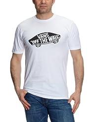 Vans - M VANS OTW BLACK/WHITE - T-shirt - Homme