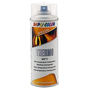 Dupli Color 409362 Thermo – Pintura spray transparente, 500 °C, 400 ml