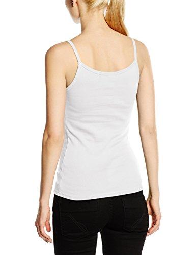 Fruit of the Loom SS089M, T-Shirt Femme Blanc (White)