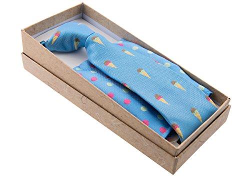 Canacana - Cravate - Motifs - Garçon Bleu - Bleu bébé