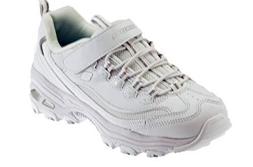 Zapatillas para niña, Color Blanco, Marca SKECHERS, Modelo Zapatillas para Niña SKECHERS DLITES-IN The Clear Blanco