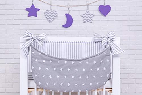 Amilian® Betttasche Spielzeugtasche Design28 Babybetttasche Windelntasche Spielzeughalter für Kinderbett NEU