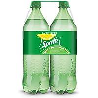 Sprite - Original, Refresco con gas, 2 l (Pack de 2), Botella de plástico