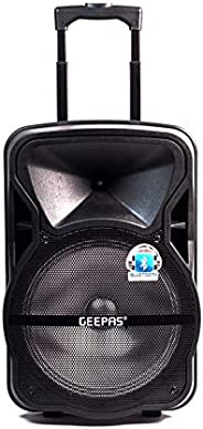 Geepas Portable & Rechargeable Professional Speaker System GMS