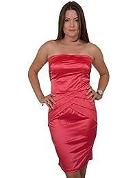 GIOVANI rICCHI mini robe robe & femme taille unique taille unique convention mix couleur :  corail (coral-taille s: