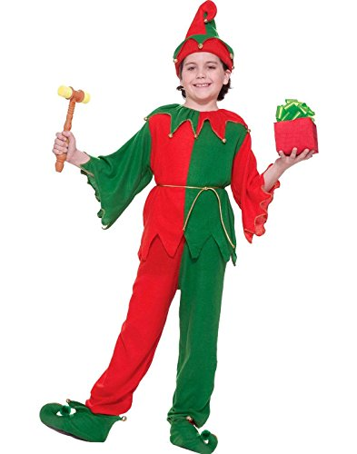 Forum Santa's Elf Santa Claus Helper Childs Costume Small (Elf Von Santa Claus)