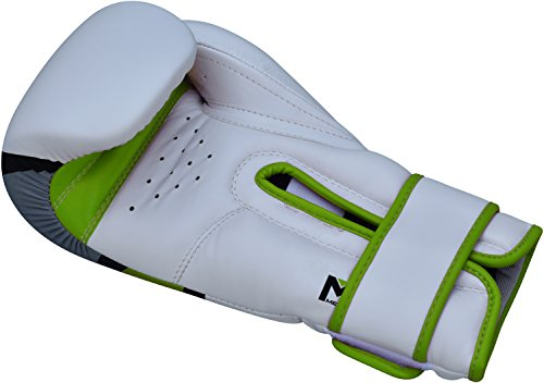 Rdx Adult Training Boxing Gloves Green Green Size:10 Oz