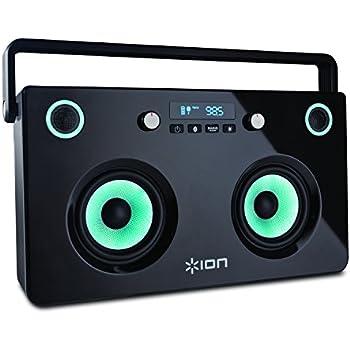 ion audio spectraboom boombox st r o portable puissant equip bluetooth avec haut parleurs. Black Bedroom Furniture Sets. Home Design Ideas