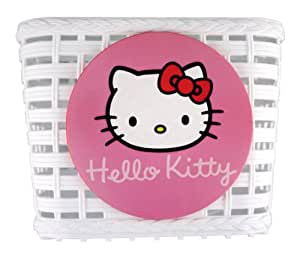 Hello Kitty 851227 Front-Mounted Bicycle Shopping Basket