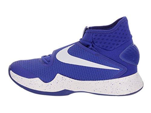 Nike Mens Zoom Hyperrev 2016 Basketball Shoe Game Royal/Fountain Blue/White