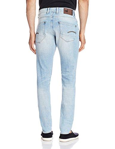 G-STAR RAW Revend Super Slim, Jeans Homme Bleu - Bleu (it aged 424)