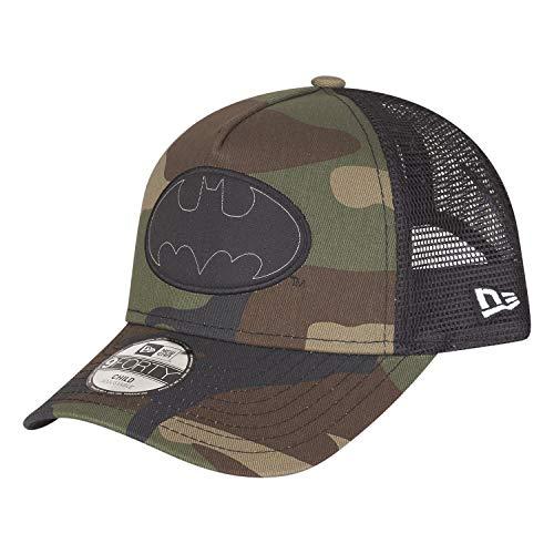 New Era Batman 9forty Kids Trucker Cap Character Woodland Camo - Youth - Hüte New Era Jungen