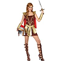 Atosa - Disfraz de mujer gladiadora de roma, XL (38772)