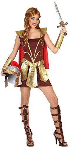 Imagen de disfraz de gladiadora capa para mujer