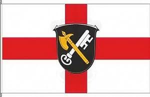 Königsbanner Hissflagge Villmar - 80 x 120cm - Flagge und Fahne