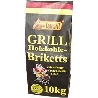Favorit 3001 - Briquetas de carbón vegetal (10 kg)