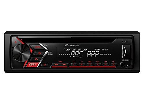 Pioneer Radio MVHS100UB 1 DIN CD Tuner USB mit Einbauset für BMW 3er E46 bis 2005