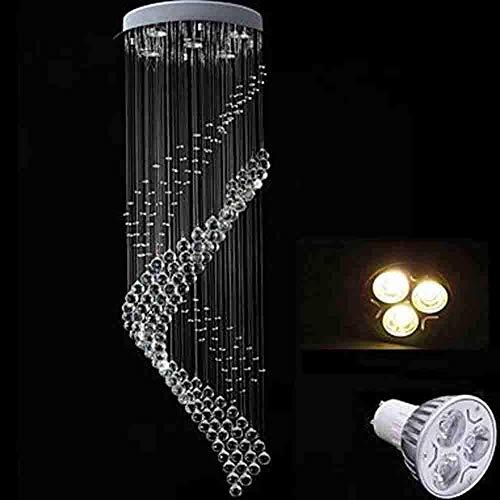 Xiao Fan ▶ * 5-Light Pendelleuchte Downlight - Kristall, LED, 110-120V / 220-240V, Warmweiß/Kaltweiß, Inklusive Leuchtmittel / GU10 / 10-15? ◀