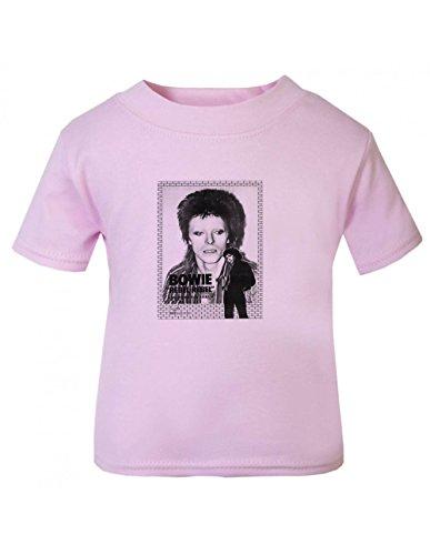 VMC David Bowie Rebel Children T Shirt Pink