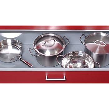 Antirutschmatte Schubladeneinlage Küche CANVAS 500mm Meterware 1,5m ...