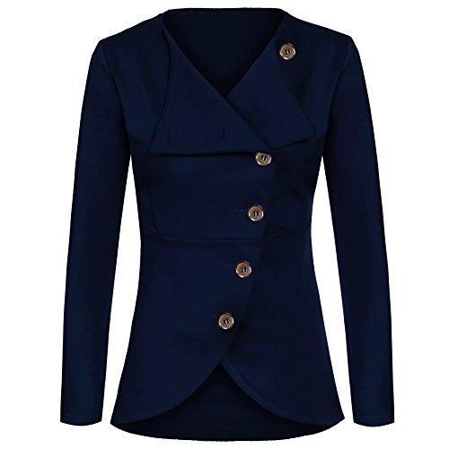 ZEARO Damen Jacke Blau