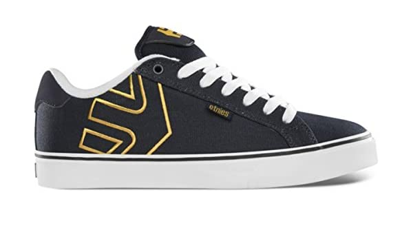 Etnies Skateboard Schuhe Fader Vulc NavyWhiteYellow Etnies