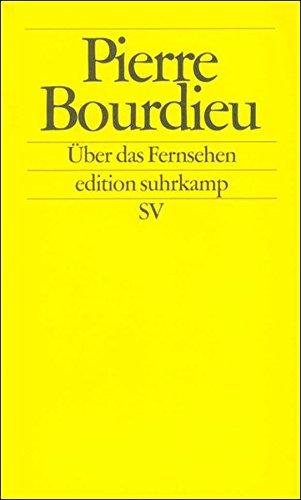 Buchseite und Rezensionen zu 'Über das Fernsehen' von Pierre Bourdieu