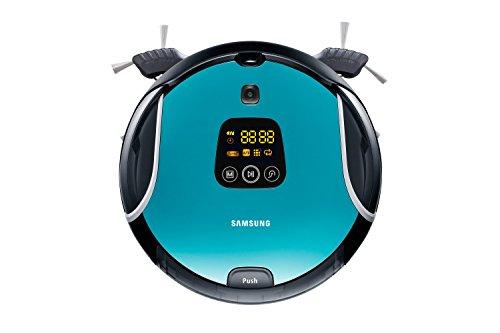 Samsung SR10F71UB Robot aspirapolvere, Nero/Blu