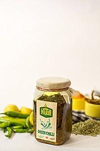 Green Chilli Pickle/Hari Mirch Ka Achar 400 gm - Homemade, Farm fresh, Preservative Free & Traditional Taste - By The Little Farm Co