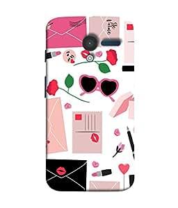 Fuson Designer Back Case Cover for Motorola Moto X :: Motorola Moto X (1st Gen) XT1052 XT1058 XT1053 XT1056 XT1060 XT1055 (Goggles Graffiti Young Girls College Beautician)