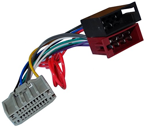Aerzetix - ISO-Konverter - Adapter - Kabel Radioadapter Radio Kabel Stecker ISO-Kabel Verbindungskabel (Dodge Radio Grand Caravan)