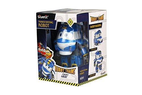 Robot Trains - 80174 - Figurine Transformable  N°1 - Modèle et Coloris Aléatoire  Kay /Alf...