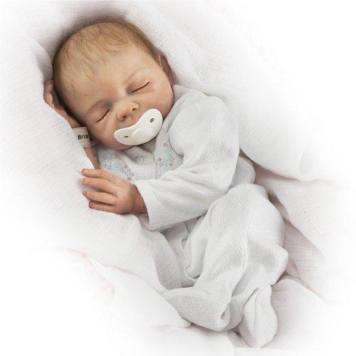 Denise Farmer Cherish Collectible Lifelike Vinyl Baby Doll: So Truly Real - 18