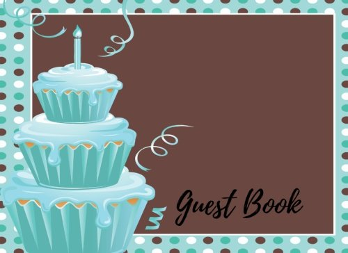 Guest Book: 1st - First Baby Birthday Anniversary Party Guest Book. Free Layout To Use As You Wish For Names & Addresses, Sign In Or Advice, Wishes, Comments Or Predictions.