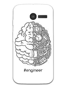 Moto X Back Cover - Trust Me - I'm an Engineer - Designer Printed Hard Shell Case
