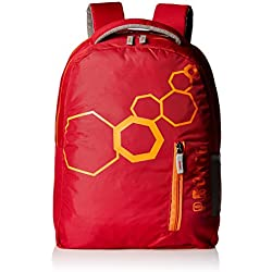 Pronto Twister 20 Ltrs Red Casual Backpack (8807 - RD)