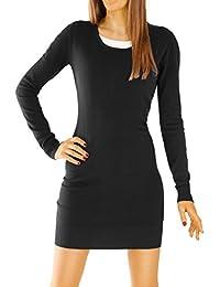 Bestyledberlin Damen Kleider, Strickkleid, Pulloverkleid t05zn