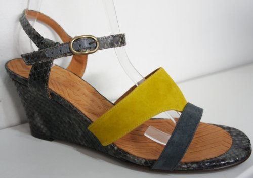 Chie Mihara Gorgeous Finde Snake cunei Green