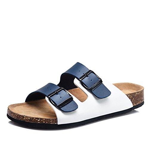 Man Kork Sandalen im Sommer grüne Liebhaber Schuhe/Freizeitschuhe für Männer und Frauen/Umwelt Paar Sandalen/Anti-Rutsch-Sandalen C