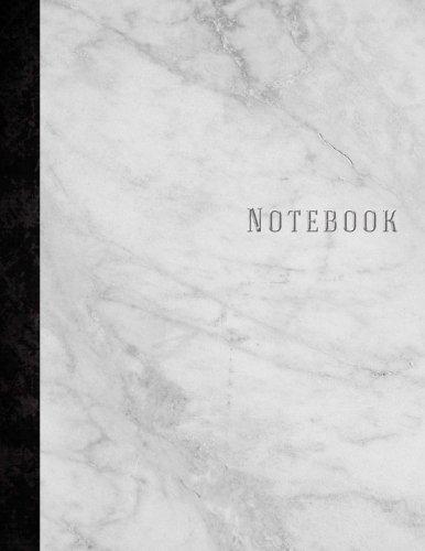 Carnet de Notes: Marbre - Grand Format - 160 pages - Lign