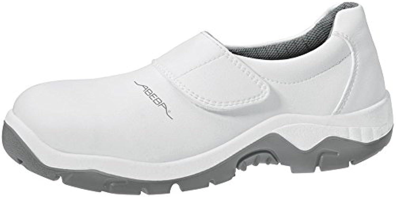 Abeba 2130 – 36 Anatom – Zapatos de seguridad mocassin, Blanco, 2130-49