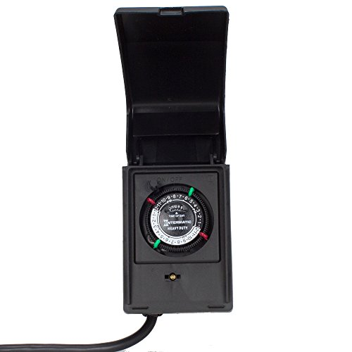 Intermatic HB11K 15-Amp Heavy Duty Outdoor Timer by Intermatic -