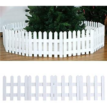 Recinzione In Plastica Per Giardino.Staccionata In Pvc Bianco Recinzione Perimetrale Con Guardrail Da